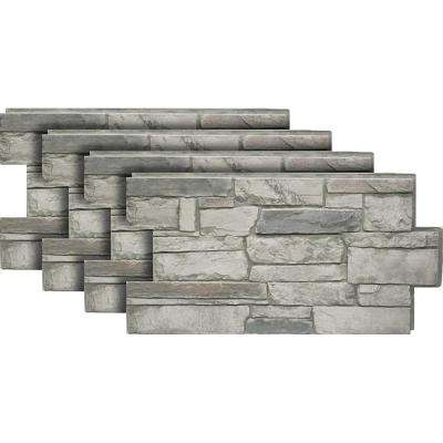 Ledgestone #60 Cascade Canyon 24 in. x 48 in. Stone Veneer Panel (4-Pack)
