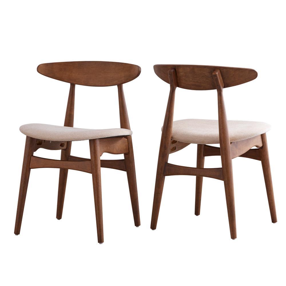 Judson Scandinavian Chestnut Dining Chair
