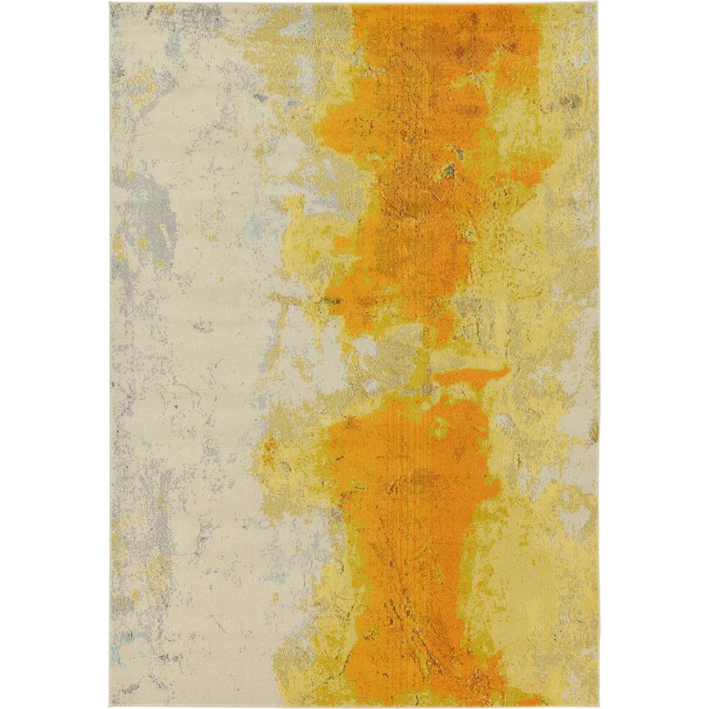 Estrella Yellow 7' x 10' Rug