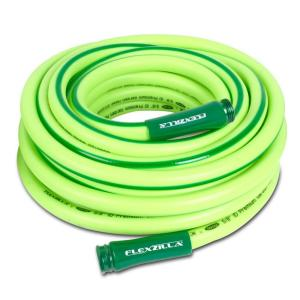 Flexzilla 5/8 inch x 50 ft. ZillaGreen Garden Hose with 3/4 inch GHT Ends by Flexzilla