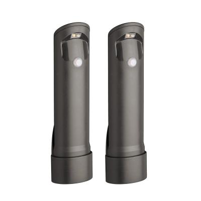 Outdoor 30 Lumen Battery Powered Motion Activated Integrated LED Mini Path Light, Brown, (2-Pack)