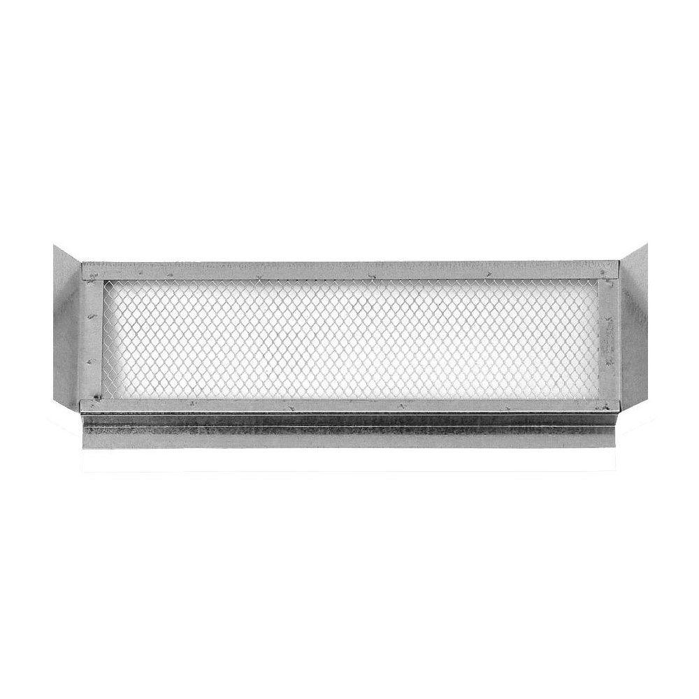 14 in. x 6 in. Galvanized Steel Soffit Eave Vent