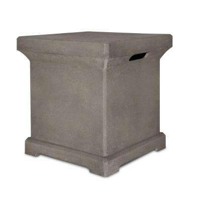 Monaco 18 in. Propane Tank Cover in Glacier Gray