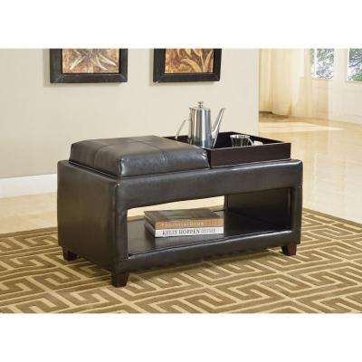 Gosse dark brown Storage Bench