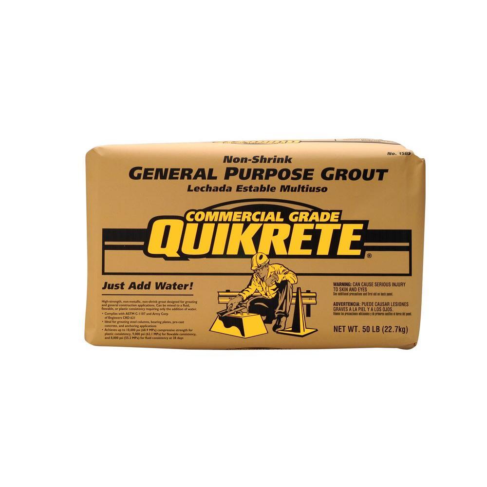 50 lb. Non-Shrink General Purpose Grout Concrete Mix