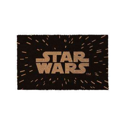 Star Wars Logo 17 in. x 29 in. Coir Door Mat