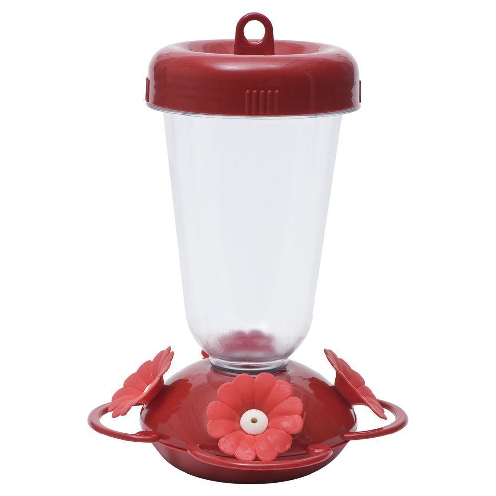 Finest Plastic Top Fill Hummingbird Feeder