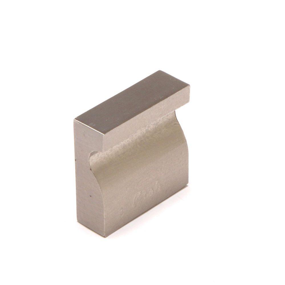 Rish Madrid 0.98 in. Satin Nickel Cabinet Knob-DISCONTINUED