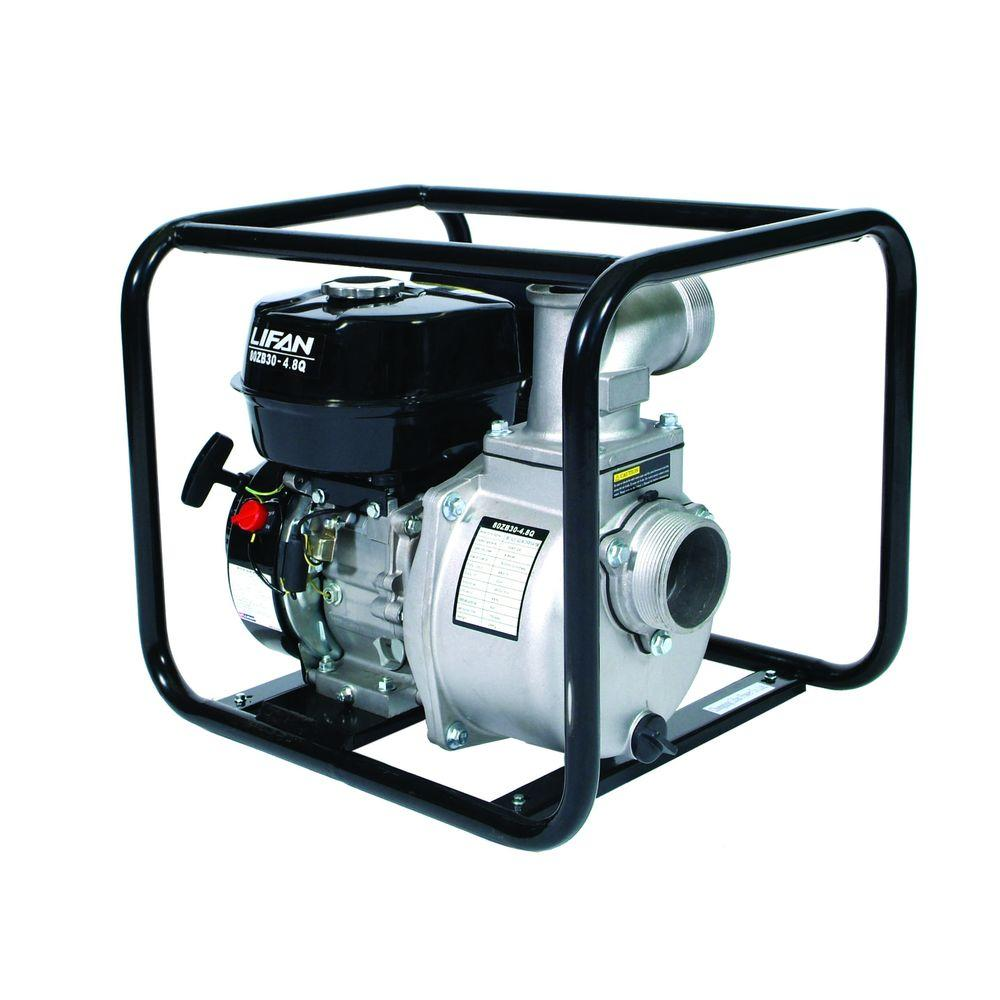 LIFAN 3 in. 6.5 HP Gas-Powered Utility Water Pump