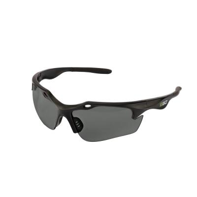 Anti-Scratch Safety Glasses with Gray Lenses