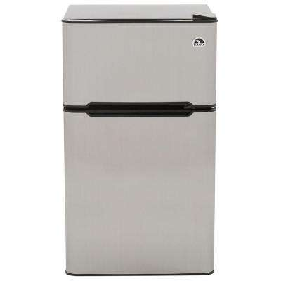 3.2 cu. ft. Mini Refrigerator in Stainless Steel