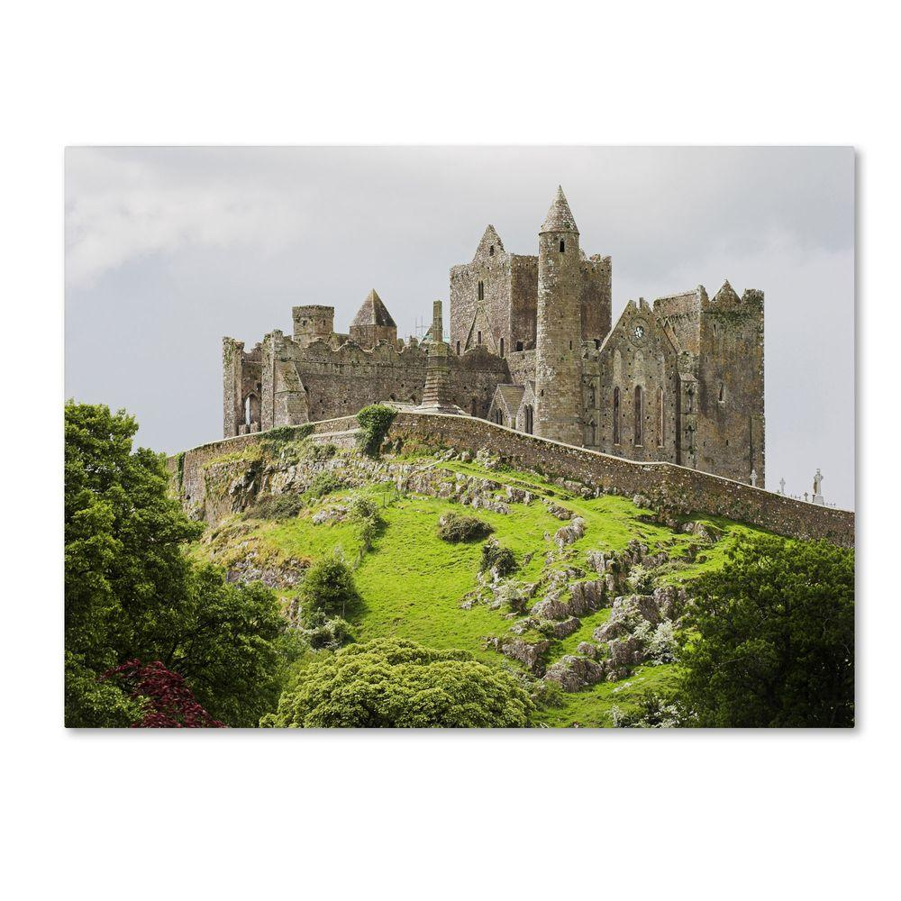 home depot castle rock trademark 30 in x 47 in rock of cashel ireland 10331