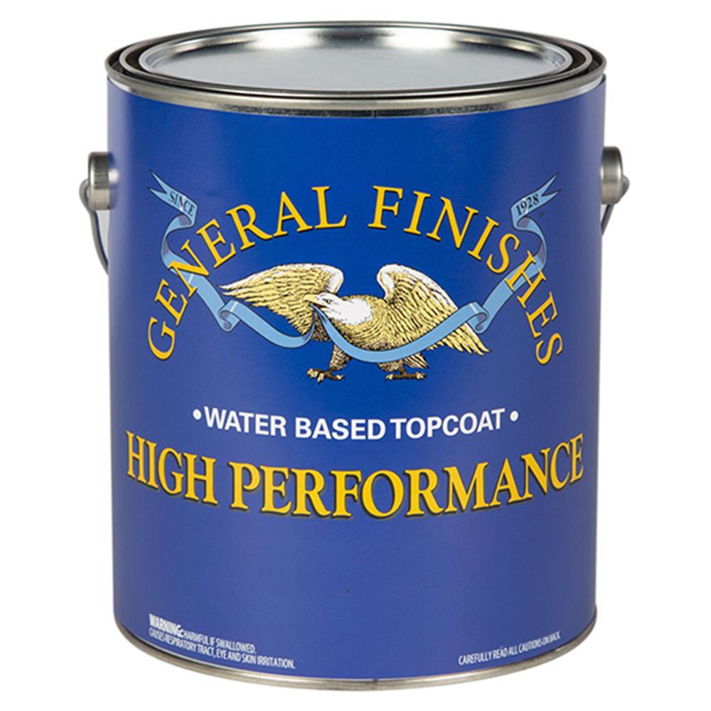 General Finishes 1 gal. Flat High Performance Polyurethane Interior Topcoat