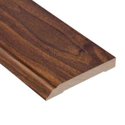 High Gloss Ladera Oak 1/2 in. Thick x 3-13/16 in. Wide x 94 in. Length Laminate Wall Base Molding