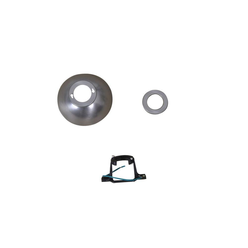 Edgemont 52 In Colonial Pewter Ceiling Fan Replacement Mounting Bracket And Canopy Set