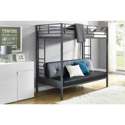 Classic Bunk Bed Metal Bunk Loft Beds Kids Bedroom