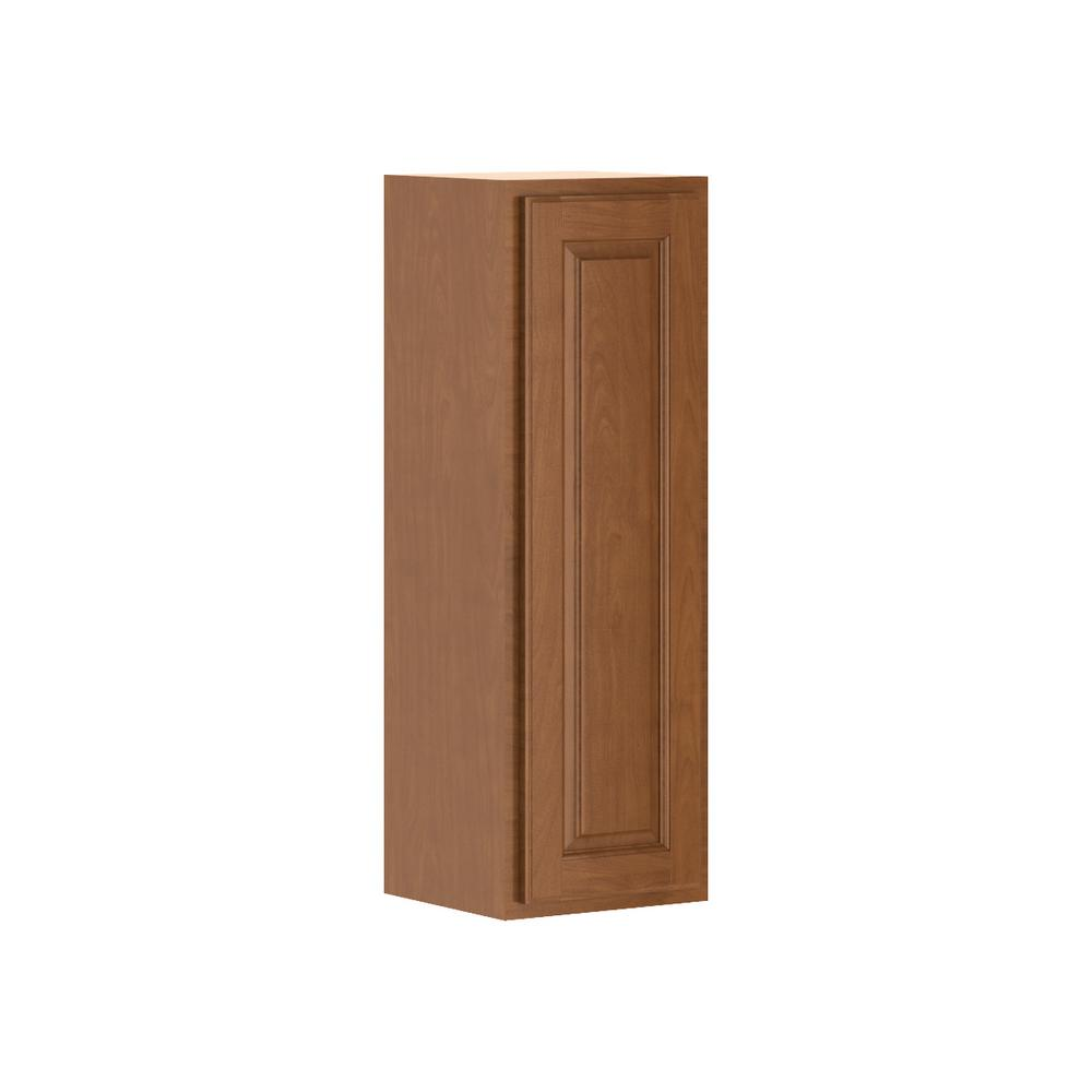 Madison Assembled 12x36x12 in. Wall Cabinet in Cognac