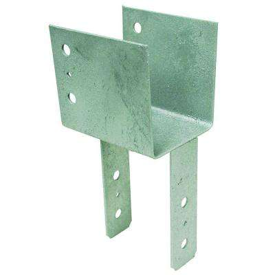 6 in. x 6 in. 7-Gauge Hot-Dip Galvanized End Column Cap