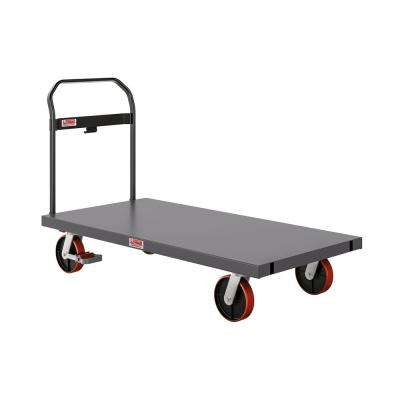 2000 lb. Capacity 30 in. x 60 in. Heavy-Duty Metal Platform Truck