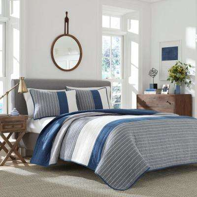 Swale Blue Full/Queen Quilt