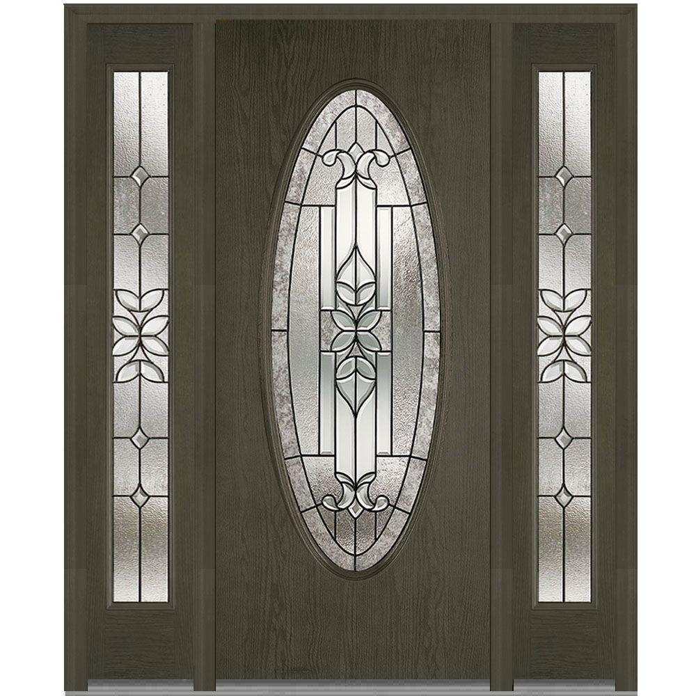 Mmi Door 68 5 In X 81 75 In Cadence Decorative Glass
