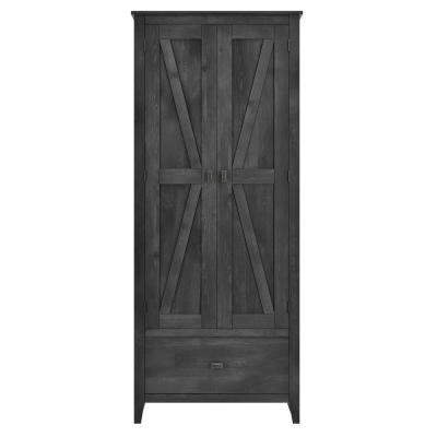 Brownwood 30 in. W Storage Cabinet in Rustic Gray