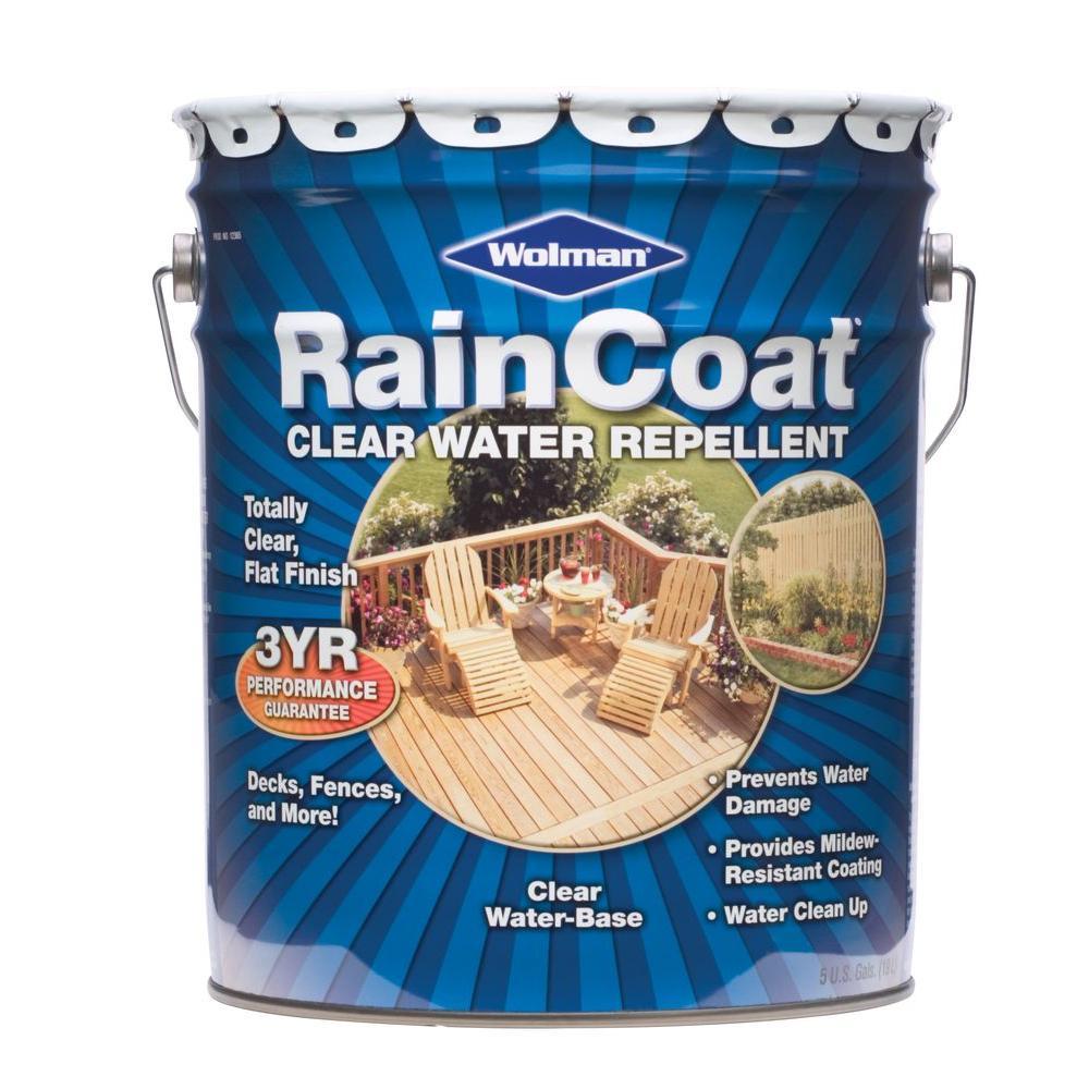 Wolman 5 gal. Raincoat Clear Water Repellent Sealer