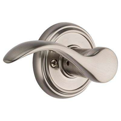 Prestige Tobin Satin Nickel Left-Handed Dummy Door Lever