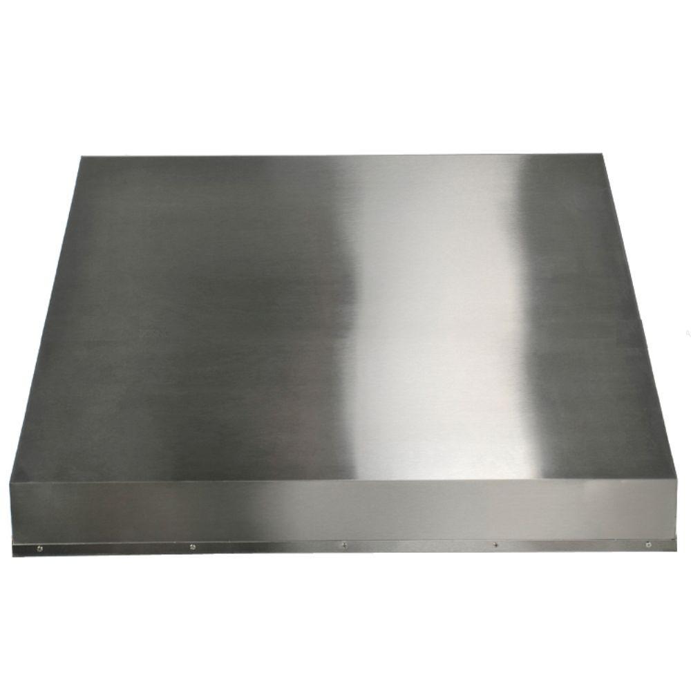 34 in. Liner Range Hood in Stainless Steel
