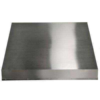 34 in. Liner Range Hood in Stainless Steel