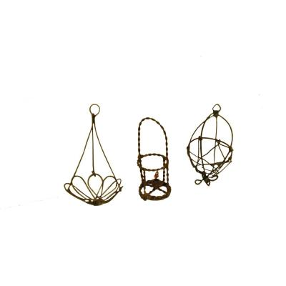 MiniGardenn Fairy Garden Miniature Wire Accessory Set