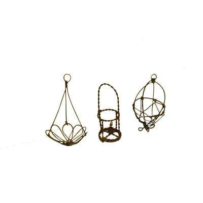 MiniGardenn Fairy Garden Miniature Wire Accessory Set