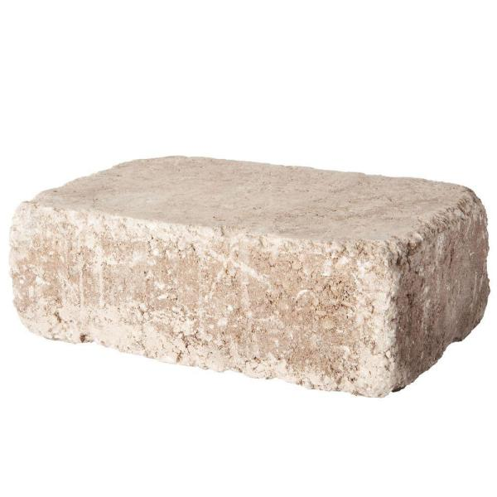 RumbleStone Large 3.5 in. x 10.5 in. x 7 in. Cafe Concrete Garden Wall Block