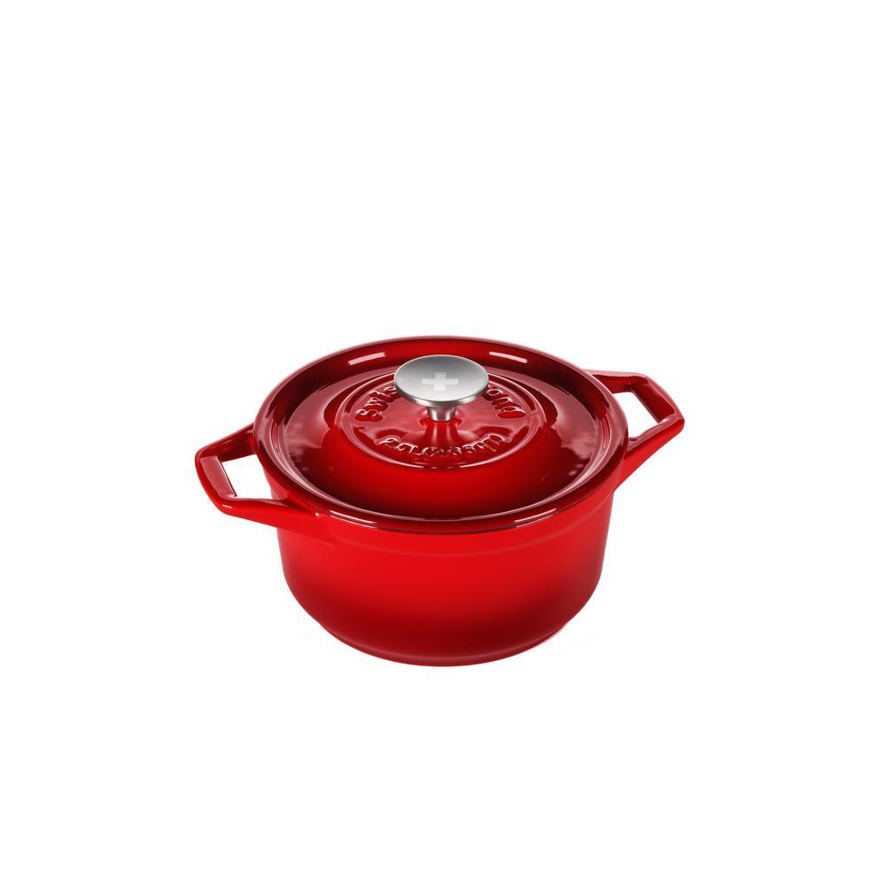 2.65 Qt. Rubis Rouge Round Casserole