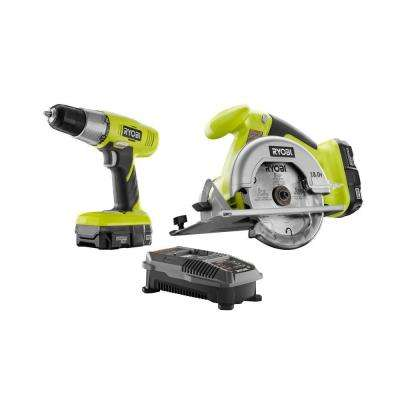 18-Volt ONE+ Lithium-Ion Drill/Driver and Circular Saw Kit