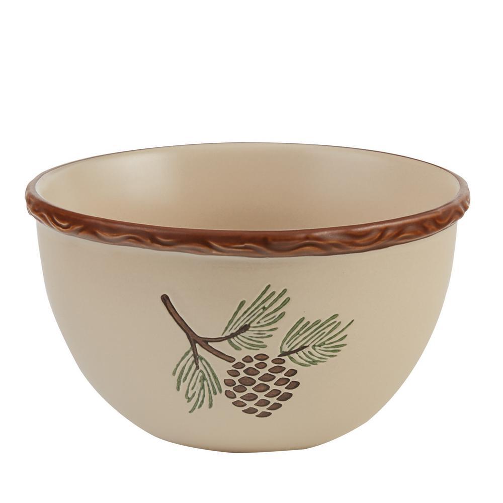 Pinecroft Tan Bowl (Set of 4)
