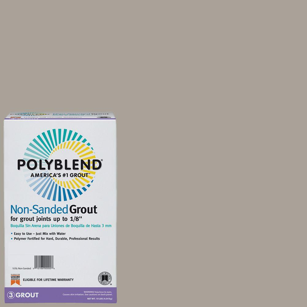 Custom Building Products Polyblend #543 Driftwood 10 lb. Non-Sanded Grout