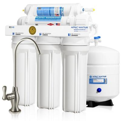 Ultimate Premium Quality Fast Flow 90 GPD Under-Sink Reverse Osmosis Drinking Water Filter System