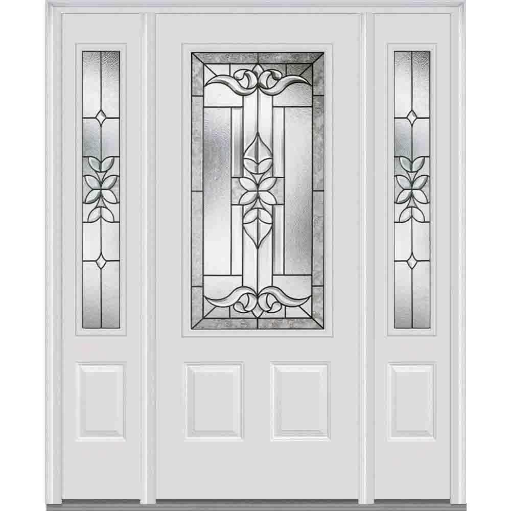 Doors With Glass Steel Doors The Home Depot