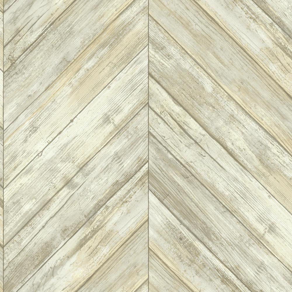 York Wallcoverings Herringbone Wood Boards Wallpaper CM3339