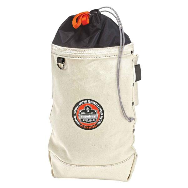 Arsenal 10 in. Topped Bolt Tool Bag in White