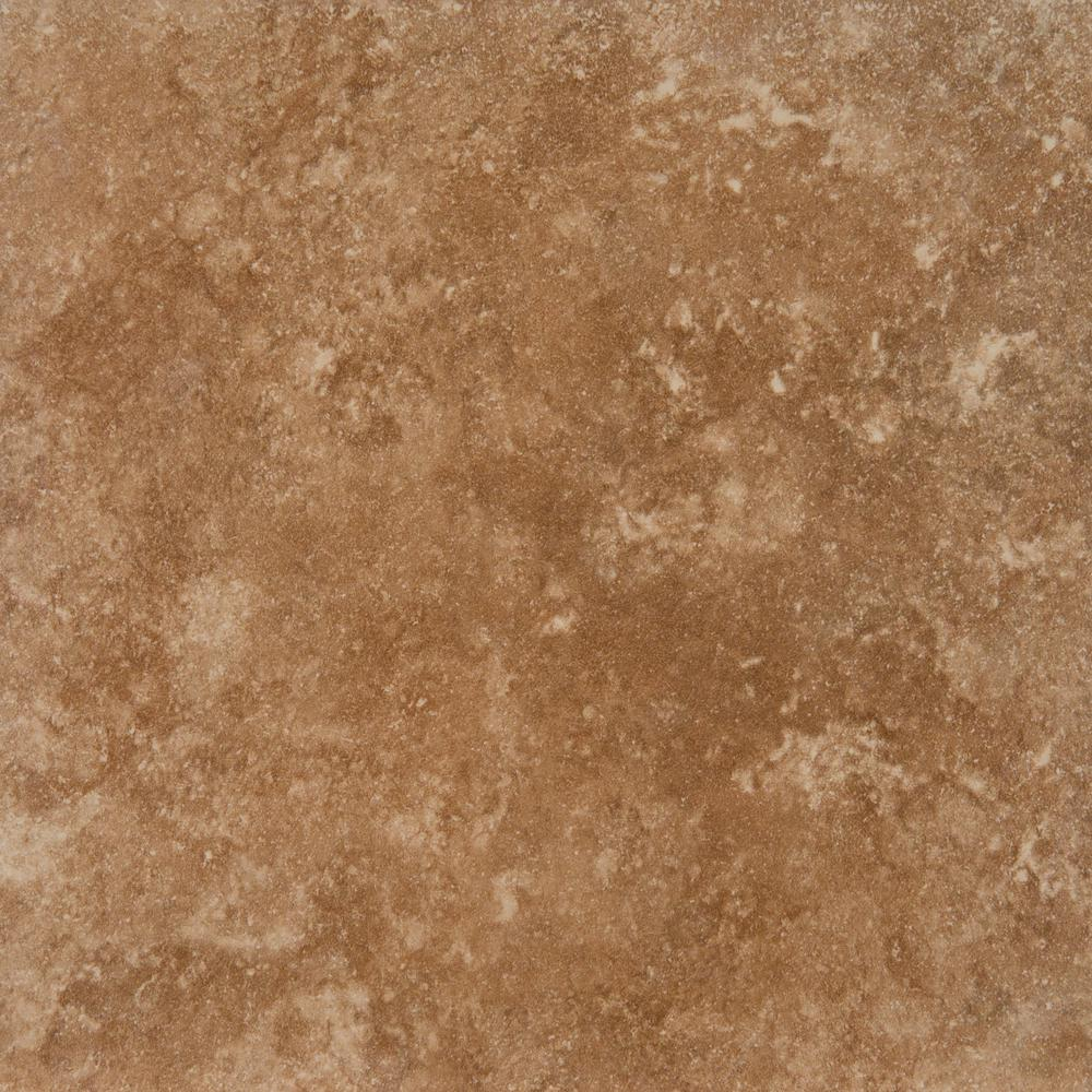 MSI Travertino Walnut 18 in. x 18 in. Glazed Porcelain Floor and Wall Tile (15.75 sq. ft. / case)