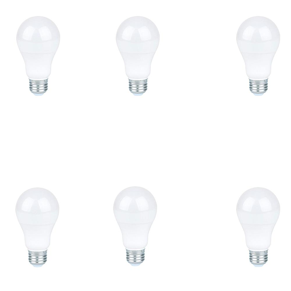 60-Watt Equivalent Warm White A19 LED Light Bulb (6-Pack)
