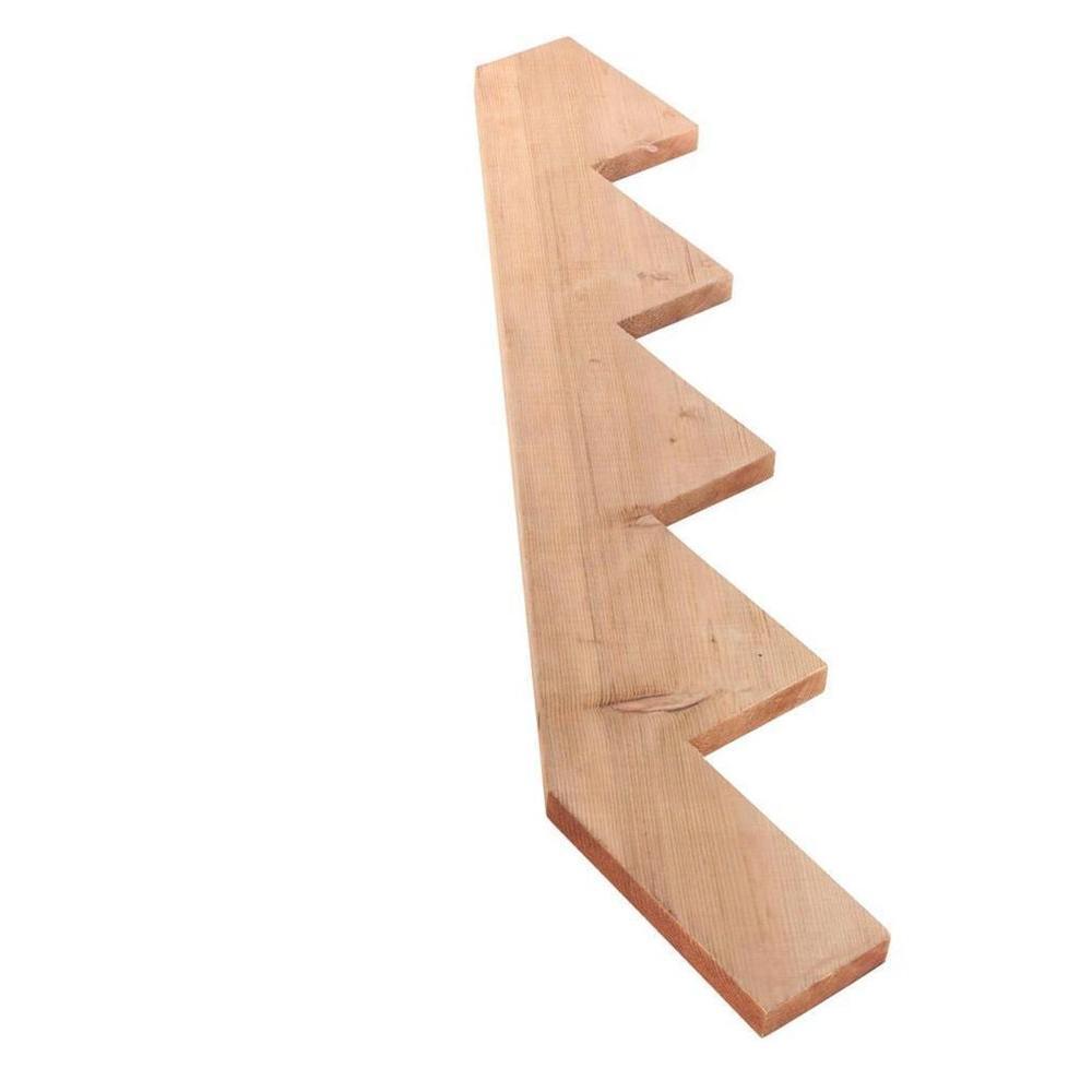 Beau 5 Step Outdoor Pressure Treated Stair Riser
