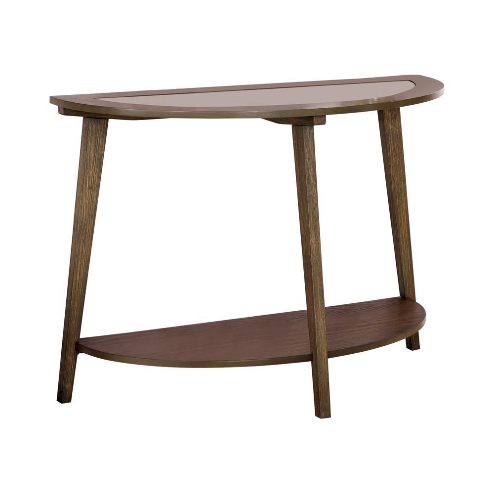 Axton Dark Oak Sofa Table
