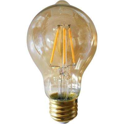 40-Watt Equivalent Warm White A19 Dimmable Vintage LED Light Bulb