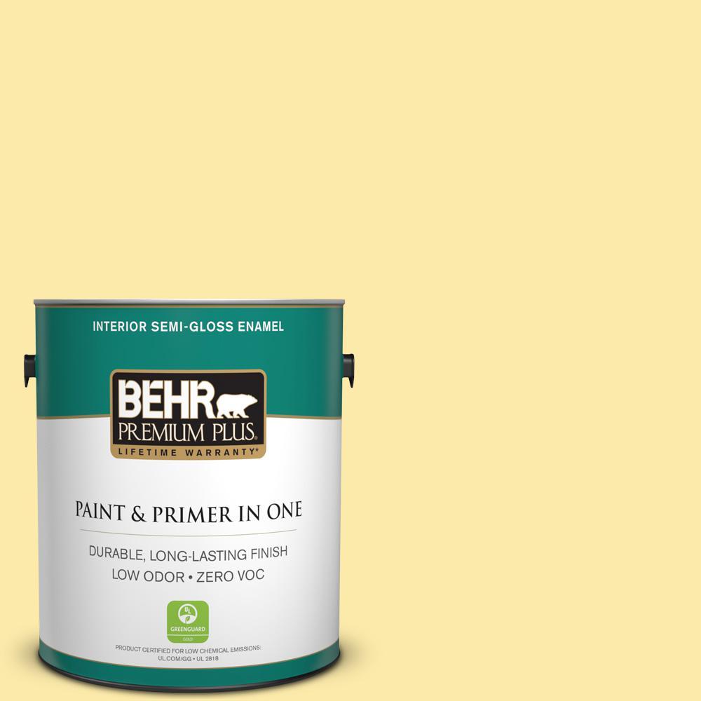 1-gal. #P300-3 Rite of Spring Semi-Gloss Enamel Interior Paint