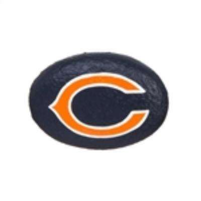 Chicago Bears 3 in. x 2 in. Decorative Garden Rock
