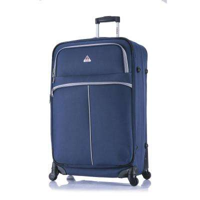 Roller-FI lightweight softside spinner 28 in.  Blue and Grey