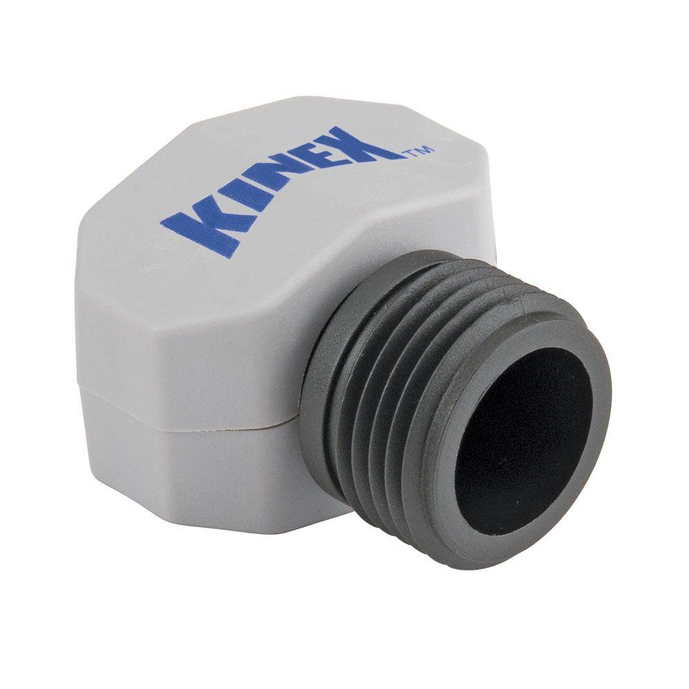 Kinex 5/8 in. x 3/4 in. Poly Male Hose Mender-DISCONTINUED